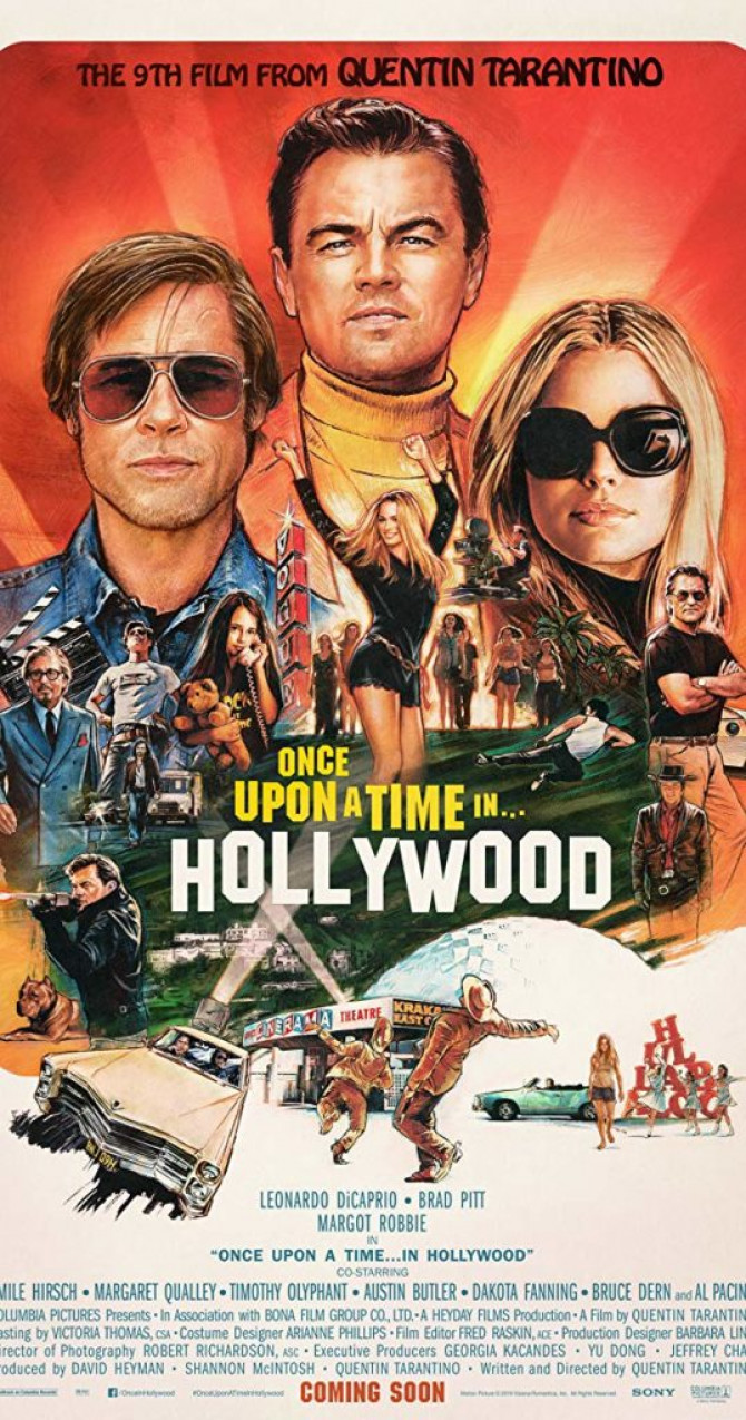 Bio: Once Upon a Time in Hollywood