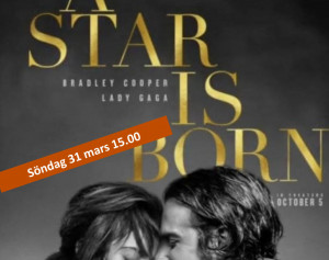 Bio: A Star Is Born @ Burträskarnas Hus