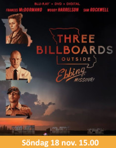 Bio: Three Billboards Outside Ebbing, Missouri  @ Burträskarnas Hus