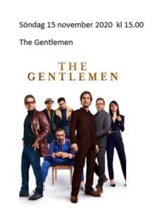 Film: The gentlemen @ Burträskarnas Hus