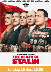 Bio: The Death of Stalin @ Burträskarnas Hus